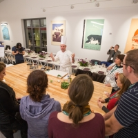 Private cooking class in Hestan Kitchen