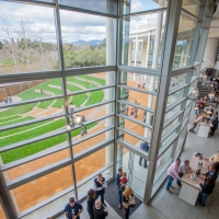 40.	View of Jackson Family Wines Amphitheater from mezzanine