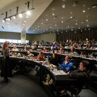 Wine class in Napa Valley Vintners Theater