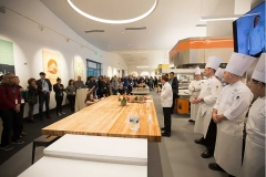 Photo of the start of the CIA chef brunch battle in Napa, CA during FOOD & WINE weekend.