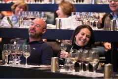 Photo of guests enjoy learning a wine class during FOOD & WINE Weekend.