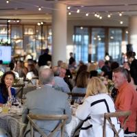 Guests dining in Copia atrium