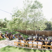 Wedding in Jackson Family Wines Amphitheater