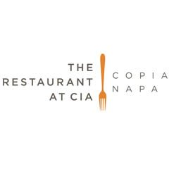 The Restaurant at CIA Copia - vertical logo image with fork down