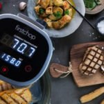 photo of souvide and plated food