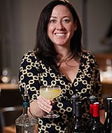 Photo of food and wine presenter, Shannon Latting