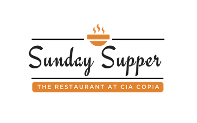 Sunday Supper at The Restaurant at CIA Copia logo