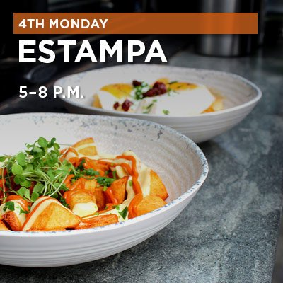 Fourth Monday: Estampa at Grove