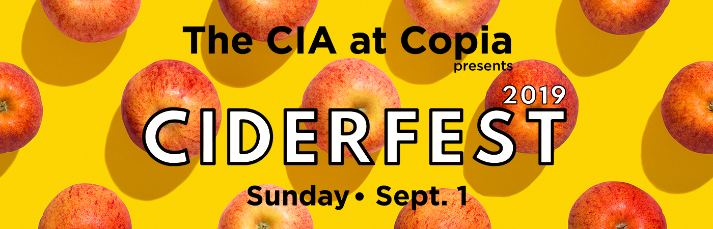 Third Annual Ciderfest at The CIA at Copia, Sunday, September 1, 2019.