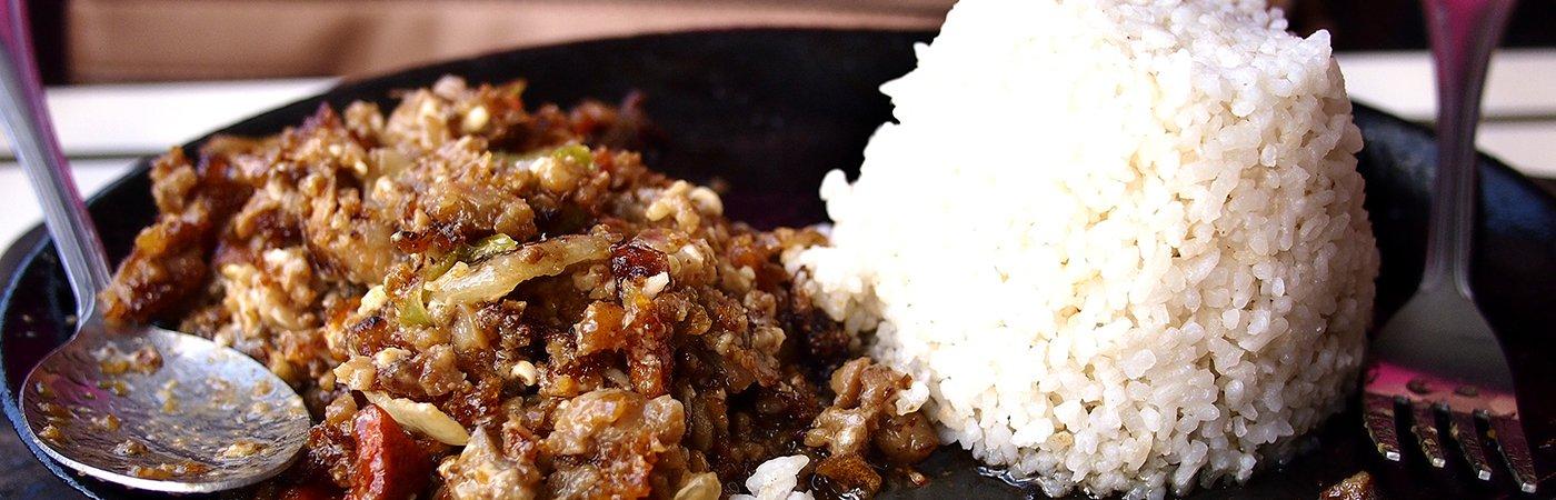 Sisig - a Filipino dish